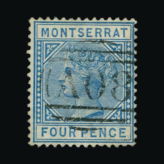Lot 14779 - montserrat 1884-85 -  Universal Philatelic Auctions Sale #73