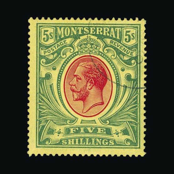 Lot 14794 - montserrat 1914 -  Universal Philatelic Auctions Sale #73