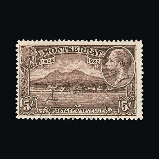 Lot 14813 - montserrat 1932 -  Universal Philatelic Auctions Sale #73