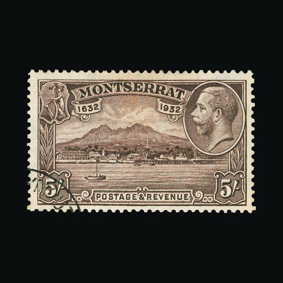 Lot 14815 - montserrat 1932 -  Universal Philatelic Auctions Sale #73