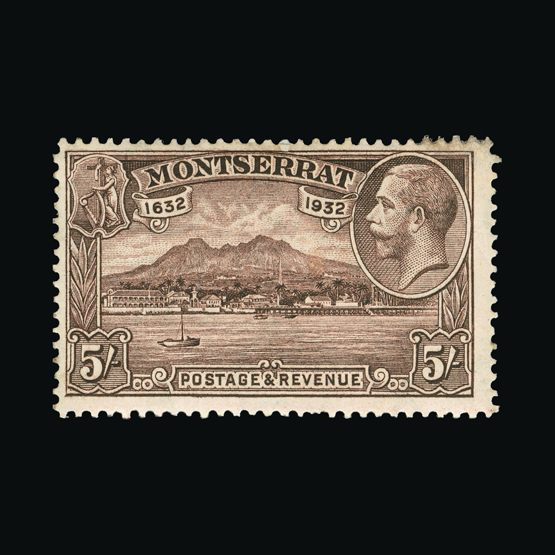 Lot 14816 - montserrat 1932 -  Universal Philatelic Auctions Sale #73