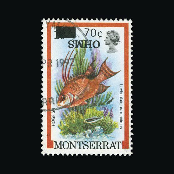 Lot 14860 - montserrat 1992 -  Universal Philatelic Auctions Sale #73