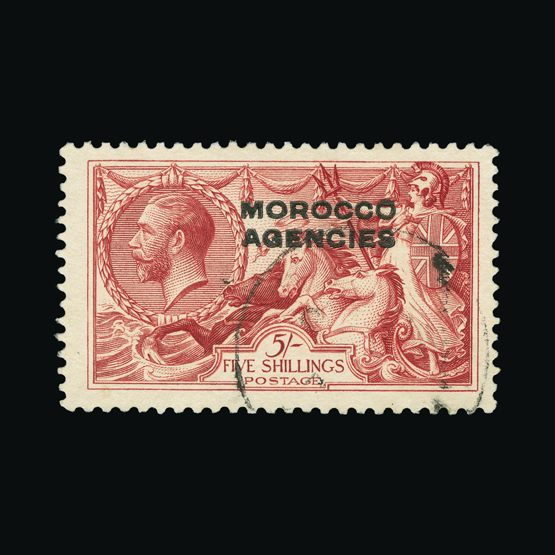 Lot 14887 - Morocco Agencies - British Currency 1914-31 -  Universal Philatelic Auctions Sale #73