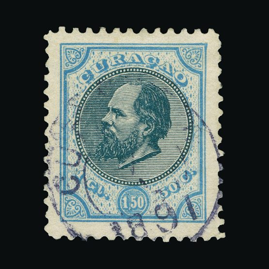 Lot 15180 - Netherlands - Colonies - Curacao 1889 -  Universal Philatelic Auctions Sale #73