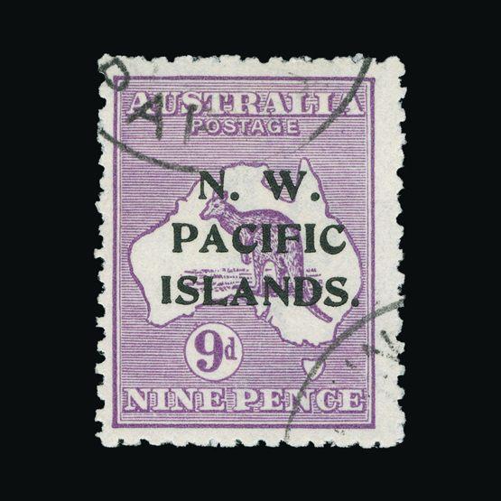 Lot 15242 - new guinea 1918-22 -  Universal Philatelic Auctions Sale #73