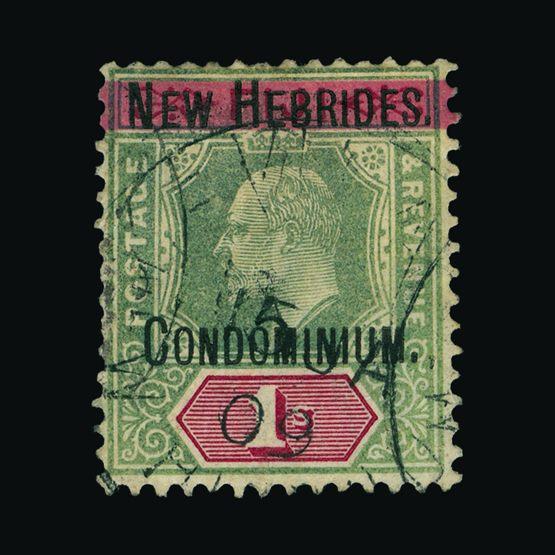 Lot 15294 - new hebrides 1908 -  Universal Philatelic Auctions Sale #73