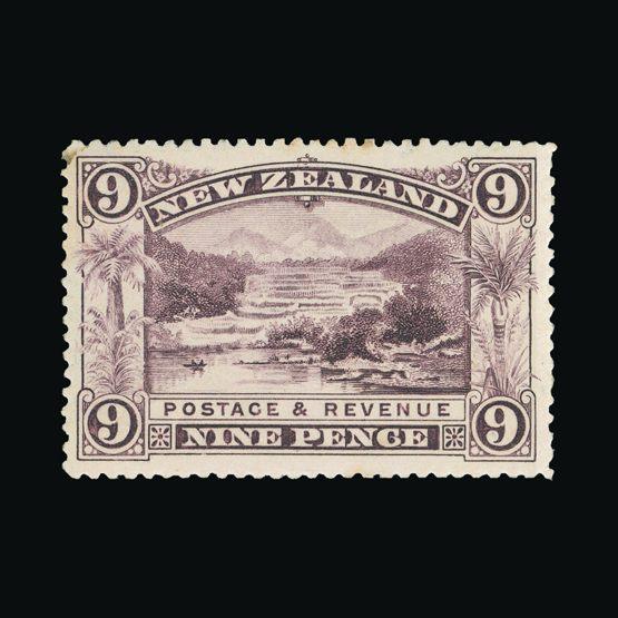 Lot 15357 - New Zealand 1898 -  Universal Philatelic Auctions Sale #73