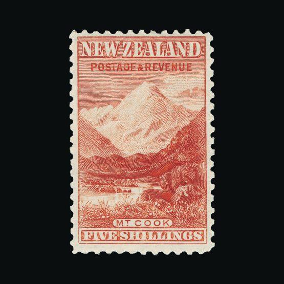 Lot 15373 - New Zealand 1899-03 -  Universal Philatelic Auctions Sale #73