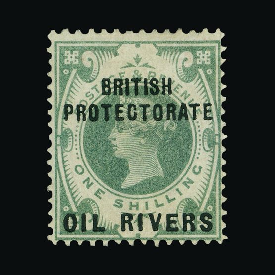 Lot 15897 - Nigeria - Niger Coast Protectorate 1892-94 -  Universal Philatelic Auctions Sale #73