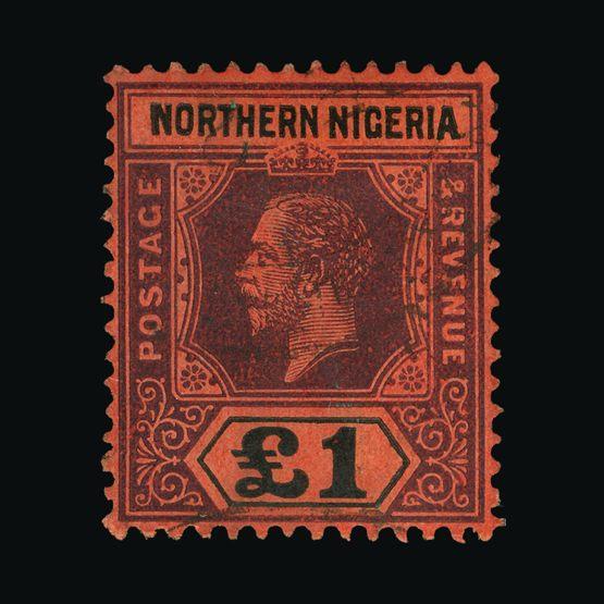 Lot 15939 - Nigeria - Northern Nigeria 1912 -  Universal Philatelic Auctions Sale #73
