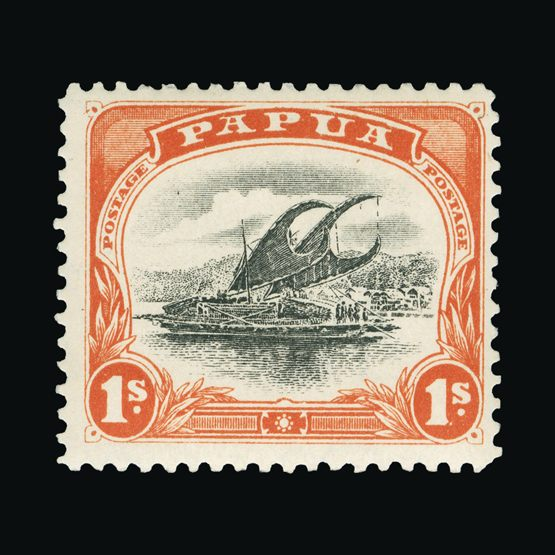 Lot 16555 - papua 1907-10 -  Universal Philatelic Auctions Sale #73
