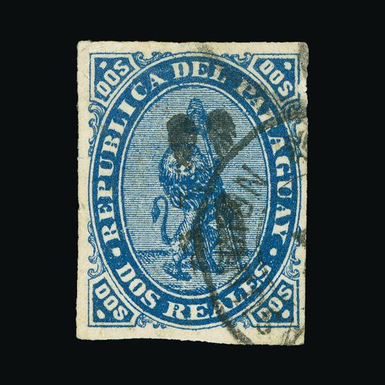 Lot 16606 - Paraguay 1878 -  Universal Philatelic Auctions Sale #73