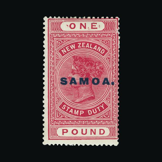 Lot 17444 - samoa 1914-28 -  Universal Philatelic Auctions Sale #73