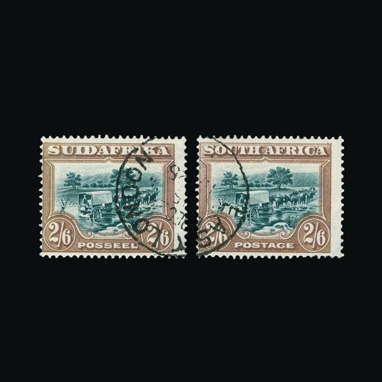 Lot 18038 - south africa 1927-30 -  Universal Philatelic Auctions Sale #73