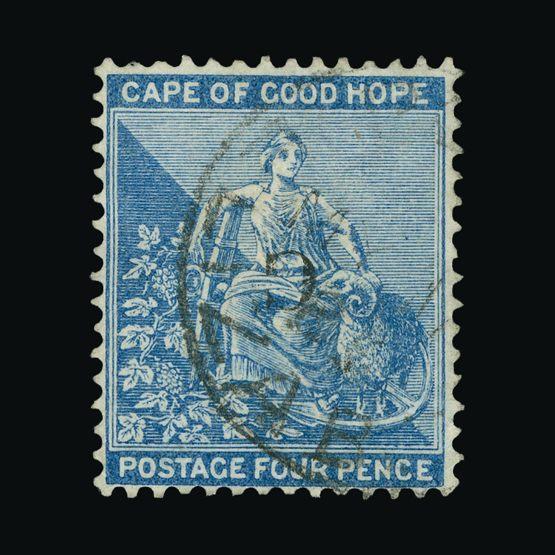 Lot 18206 - South Africa - Griqueland West 1878 -  Universal Philatelic Auctions Sale #73