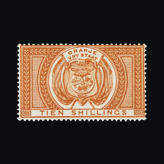 Lot 18217 - South Africa - Orange Free State 1882-86 -  Universal Philatelic Auctions Sale #73