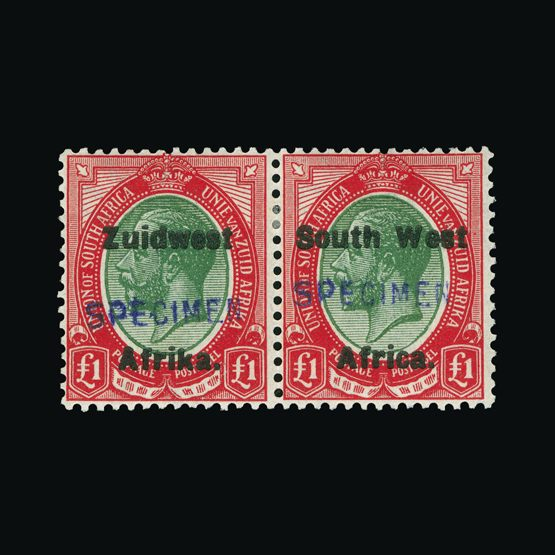 Lot 18242 - south west africa 1923-26 -  Universal Philatelic Auctions Sale #73