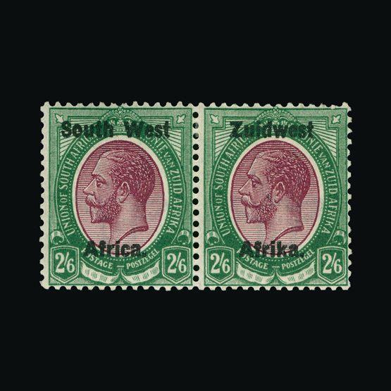 Lot 18244 - south west africa 1923-26 -  Universal Philatelic Auctions Sale #73