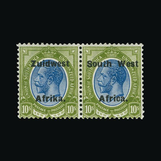 Lot 18246 - south west africa 1923-26 -  Universal Philatelic Auctions Sale #73