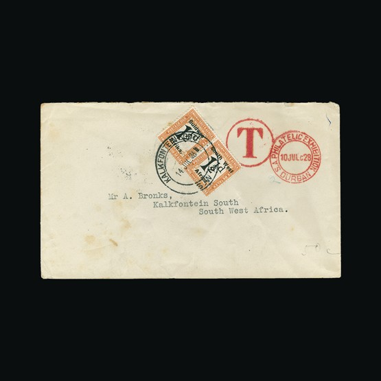Lot 18251 - south west africa 1924 -  Universal Philatelic Auctions Sale #73