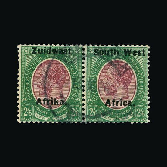 Lot 18252 - south west africa 1924 (29 June) -  Universal Philatelic Auctions Sale #73