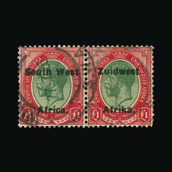 Lot 18253 - south west africa 1926 (9 Jan) -  Universal Philatelic Auctions Sale #73