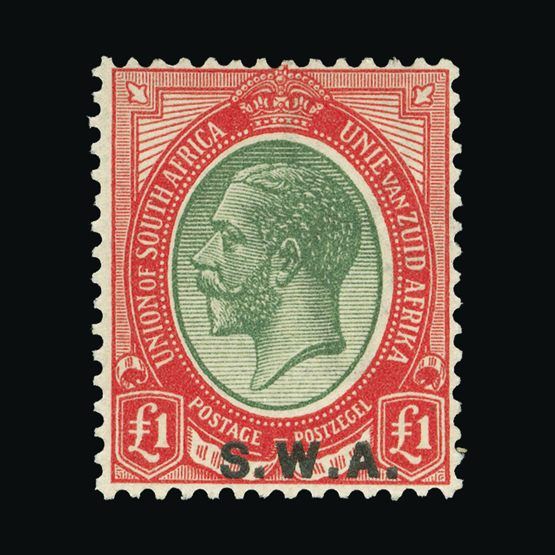 Lot 18264 - south west africa 1927-30 -  Universal Philatelic Auctions Sale #73