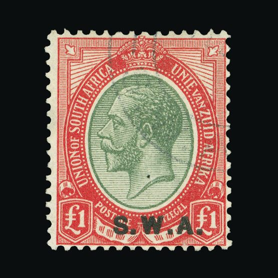 Lot 18267 - south west africa 1927-30 -  Universal Philatelic Auctions Sale #73