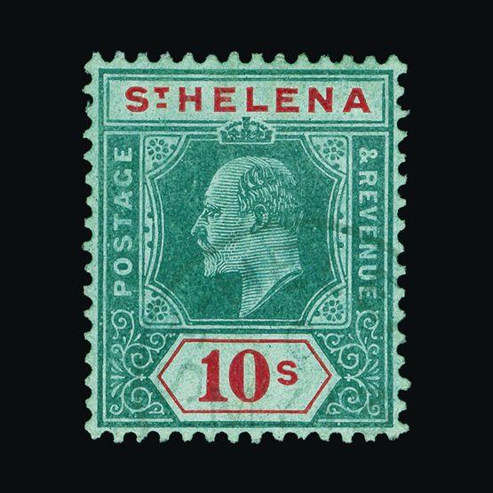 Lot 18406 - st. helena 1908-11 -  Universal Philatelic Auctions Sale #73