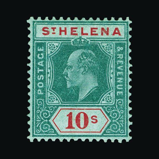 Lot 18408 - st. helena 1908-11 -  Universal Philatelic Auctions Sale #73