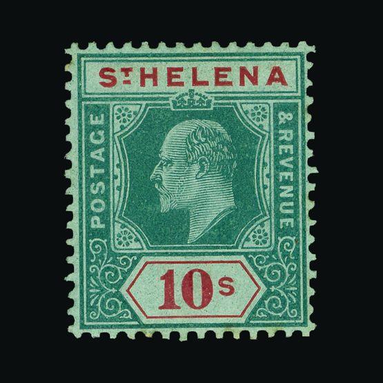 Lot 18409 - st. helena 1908-11 -  Universal Philatelic Auctions Sale #73