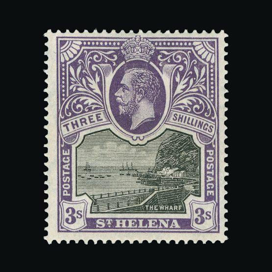 Lot 18420 - st. helena 1912-16 -  Universal Philatelic Auctions Sale #73