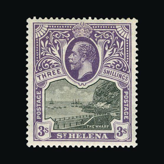 Lot 18421 - st. helena 1912-16 -  Universal Philatelic Auctions Sale #73