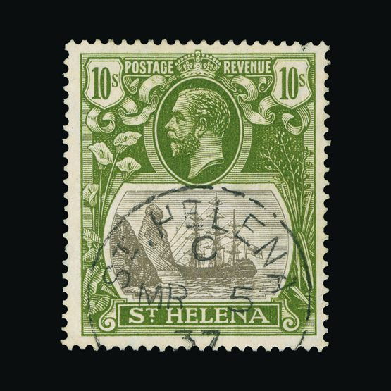 Lot 18435 - st. helena 1922-37 -  Universal Philatelic Auctions Sale #73