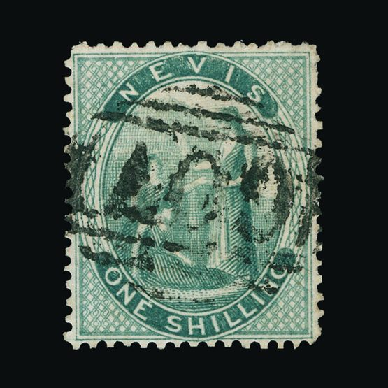 Lot 18518 - St. Kitts and Nevis - Nevis 1871-8 -  Universal Philatelic Auctions Sale #73
