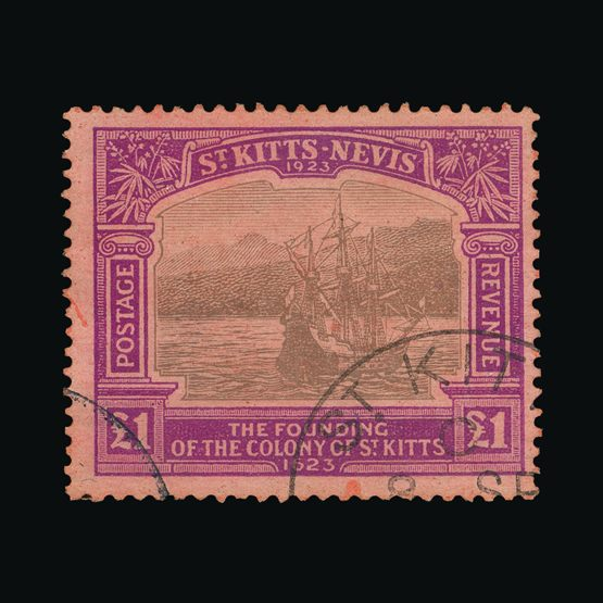 Lot 18541 - St. Kitts and Nevis - Nevis 1923 -  Universal Philatelic Auctions Sale #73