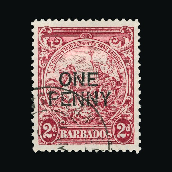 Lot 1857 - barbados 1947 -  Universal Philatelic Auctions Sale #73