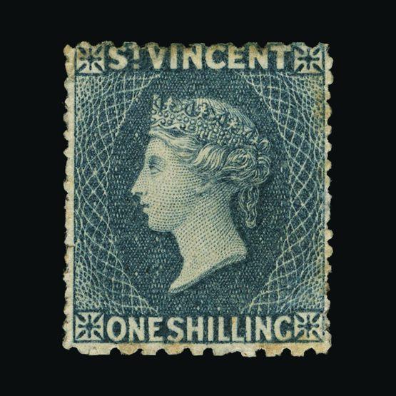 Lot 18719 - st. vincent 1862-68 -  Universal Philatelic Auctions Sale #73