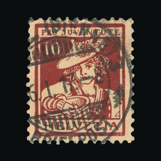 Lot 19141 - Switzerland 1916 -  Universal Philatelic Auctions Sale #73