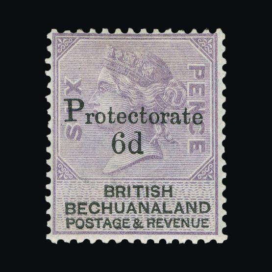 Lot 1952 - bechuanaland 1888 -  Universal Philatelic Auctions Sale #73