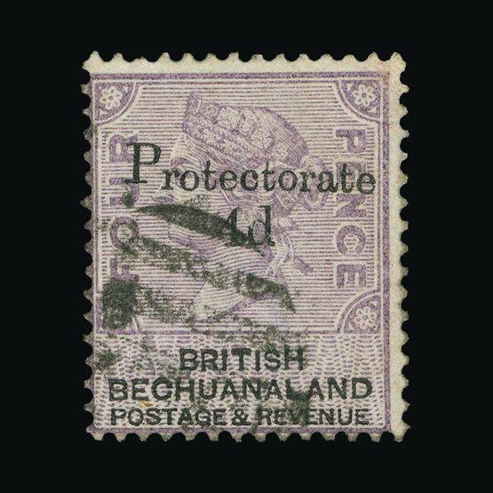 Lot 1963 - bechuanaland 1888 -  Universal Philatelic Auctions Sale #73