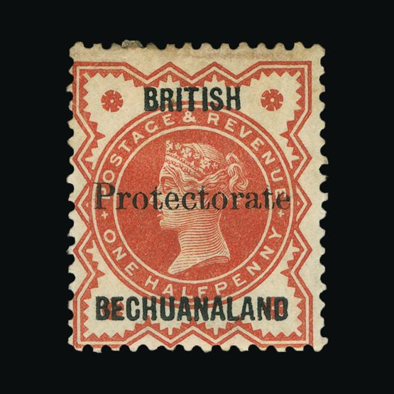 Lot 1975 - bechuanaland 1890 -  Universal Philatelic Auctions Sale #73