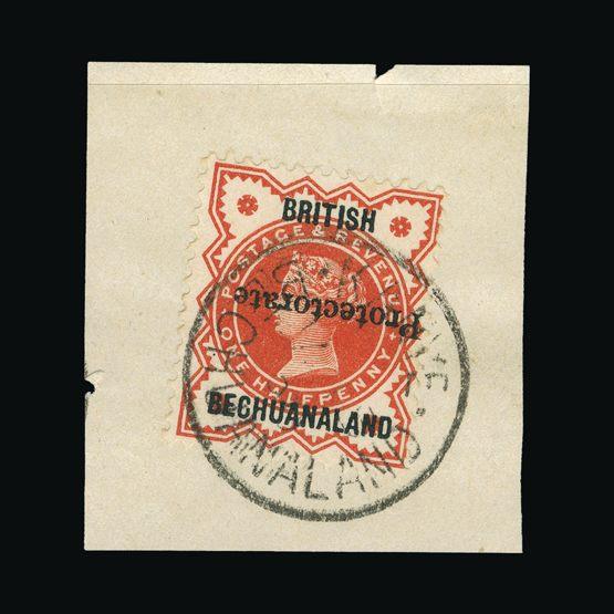 Lot 1977 - bechuanaland 1890 -  Universal Philatelic Auctions Sale #73