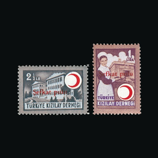 Lot 19779 - Turkey 1949 -  Universal Philatelic Auctions Sale #73