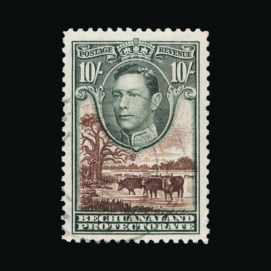 Lot 2014 - bechuanaland 1938-52 -  Universal Philatelic Auctions Sale #73