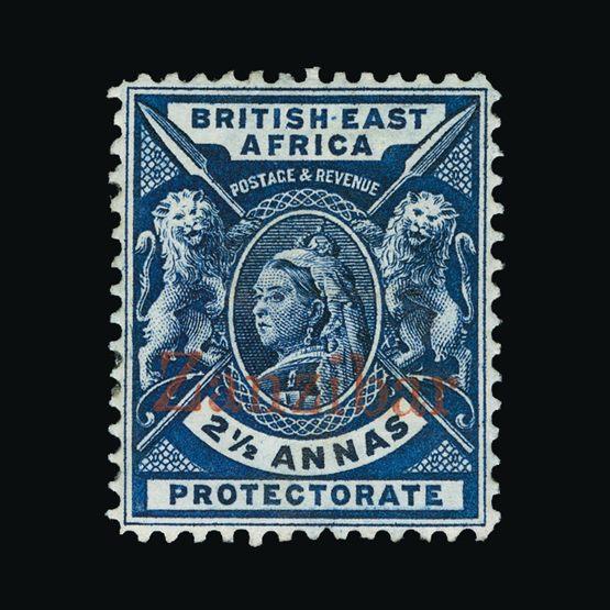 Lot 20290 - zanzibar 1896 -  Universal Philatelic Auctions Sale #73