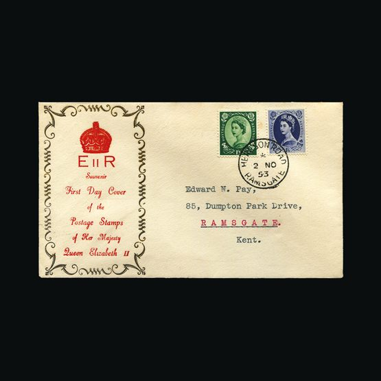 Lot 20782 - Great Britain - Covers - QEII 1953 -  Universal Philatelic Auctions Sale #73