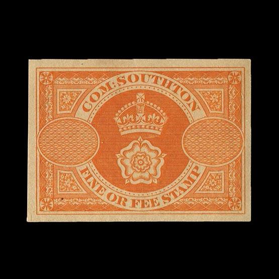 Lot 20864 - Great Britain - Revenues 1880 -  Universal Philatelic Auctions Sale #73