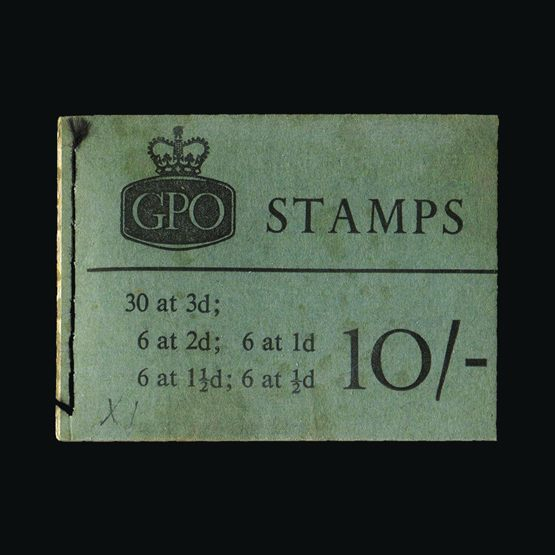 Lot 20933 - Great Britain - Booklets 1961 -  Universal Philatelic Auctions Sale #73