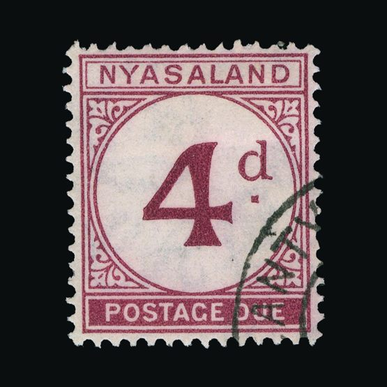 Lot 21161 - nyasaland 1950 -  Universal Philatelic Auctions Sale #73
